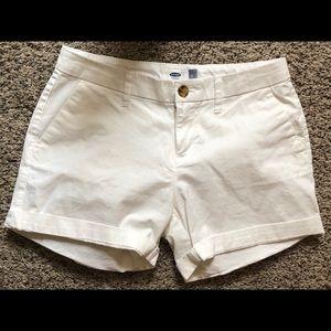 Women's Old Navy White Shorts 0